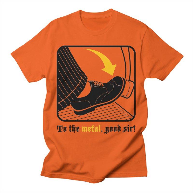 Push it Jeeves! Men's T-Shirt by mckibillo's Artist Shop