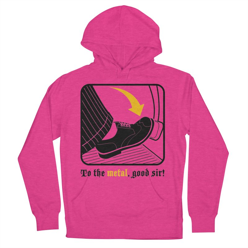 Push it Jeeves! Women's Pullover Hoody by mckibillo's Artist Shop