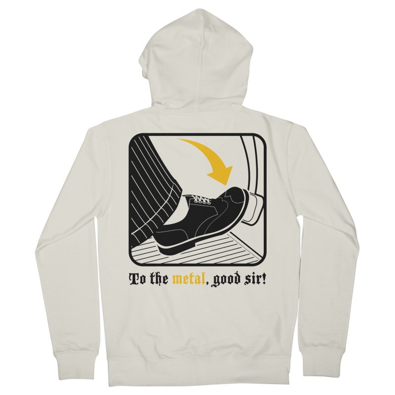 Push it Jeeves! Women's Zip-Up Hoody by mckibillo's Artist Shop