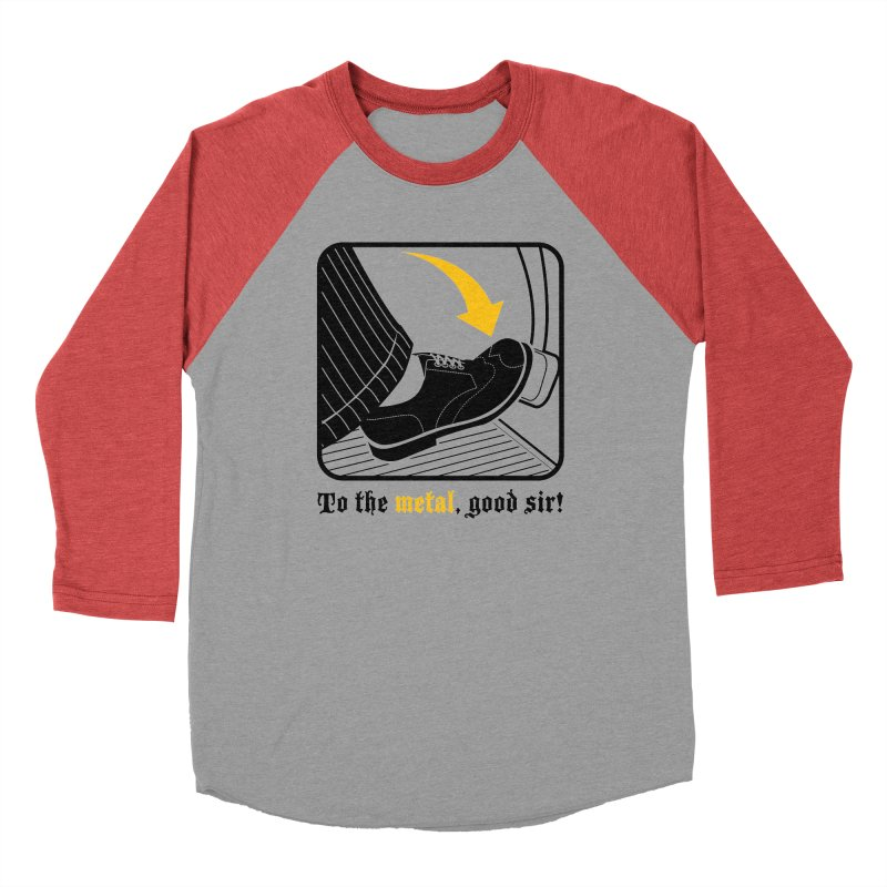 Push it Jeeves! Men's Baseball Triblend Longsleeve T-Shirt by mckibillo's Artist Shop