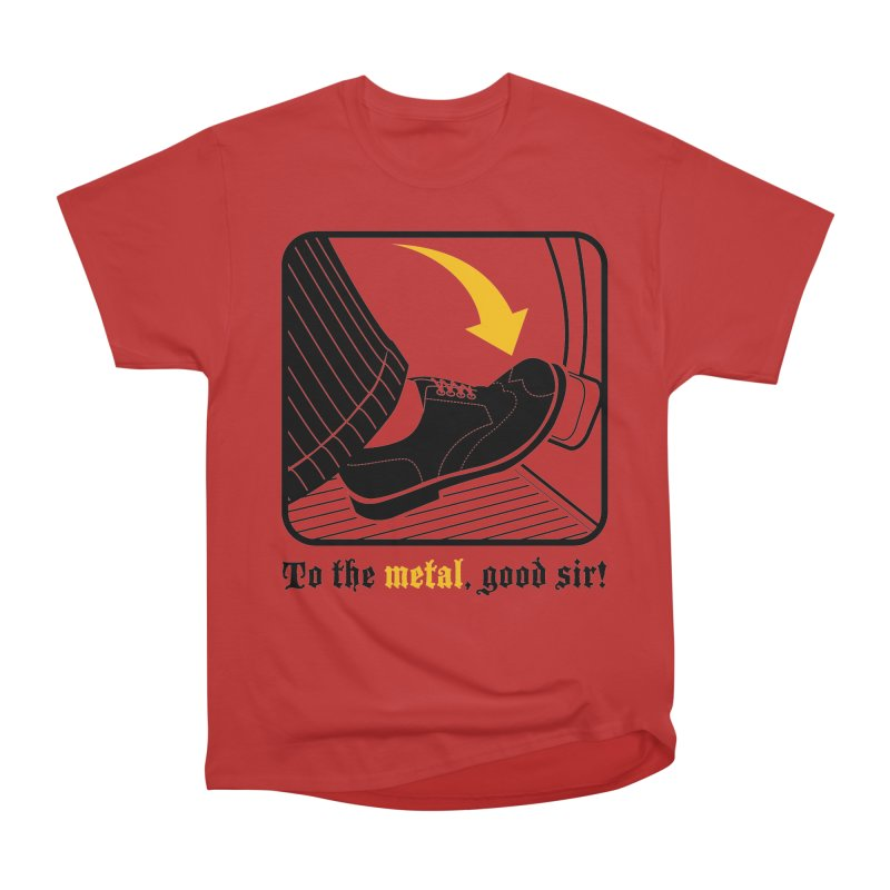 Push it Jeeves! Men's Heavyweight T-Shirt by mckibillo's Artist Shop