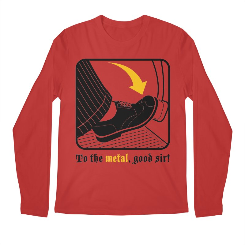 Push it Jeeves! Men's Longsleeve T-Shirt by mckibillo's Artist Shop