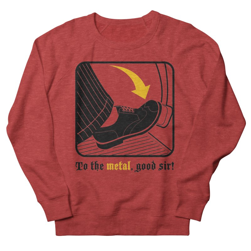 Push it Jeeves! Men's Sweatshirt by mckibillo's Artist Shop