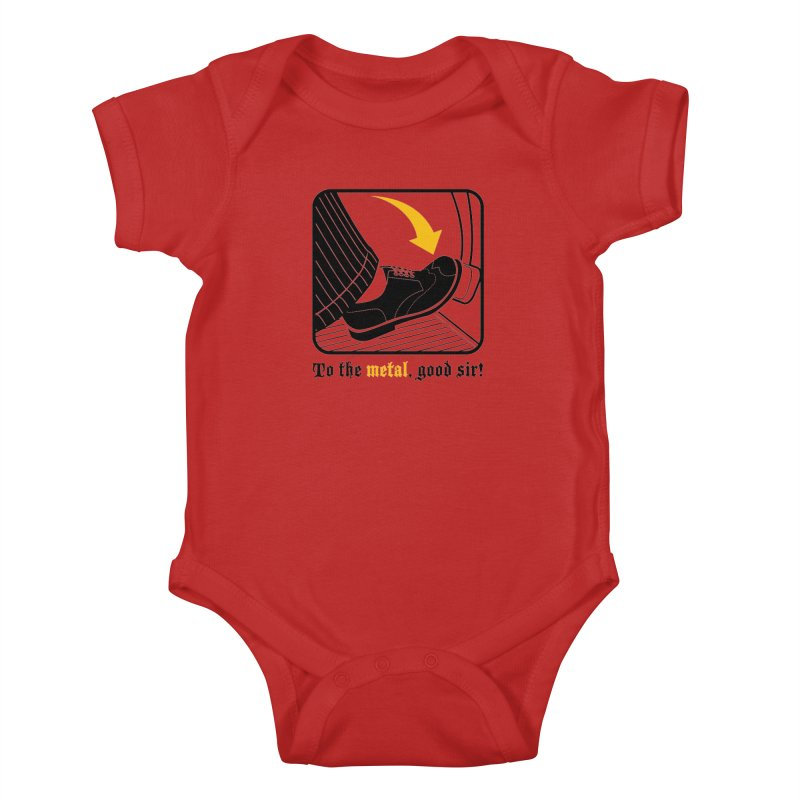 Push it Jeeves! Kids Baby Bodysuit by mckibillo's Artist Shop
