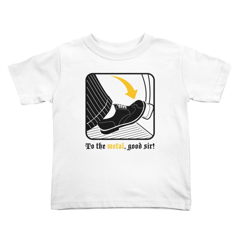 Push it Jeeves! Kids Toddler T-Shirt by mckibillo's Artist Shop