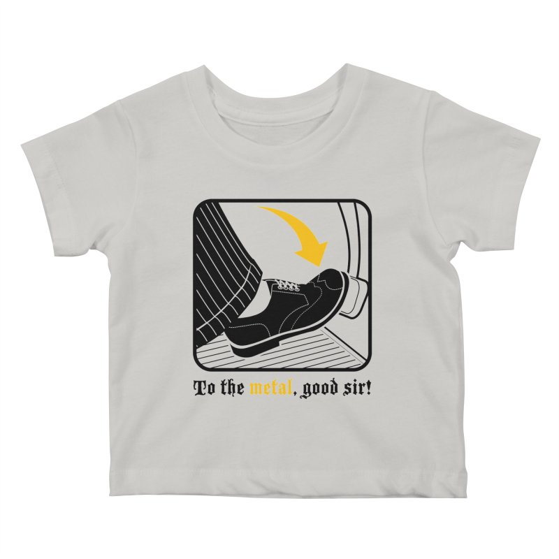 Push it Jeeves! Kids Baby T-Shirt by mckibillo's Artist Shop