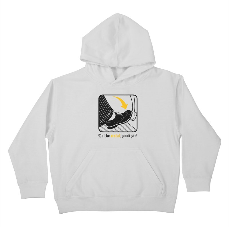 Push it Jeeves! Kids Pullover Hoody by mckibillo's Artist Shop
