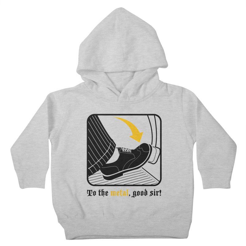 Push it Jeeves! Kids Toddler Pullover Hoody by mckibillo's Artist Shop