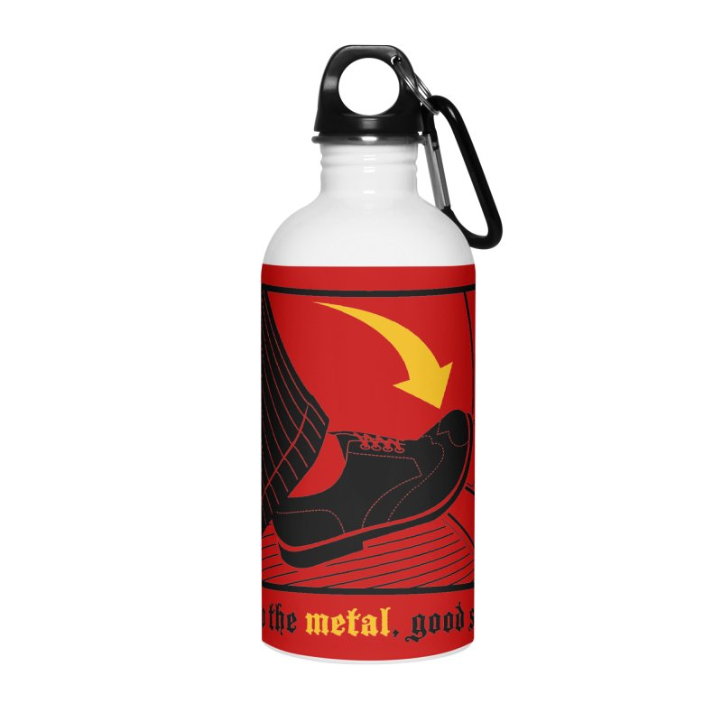 Push it Jeeves! Accessories Water Bottle by mckibillo's Artist Shop