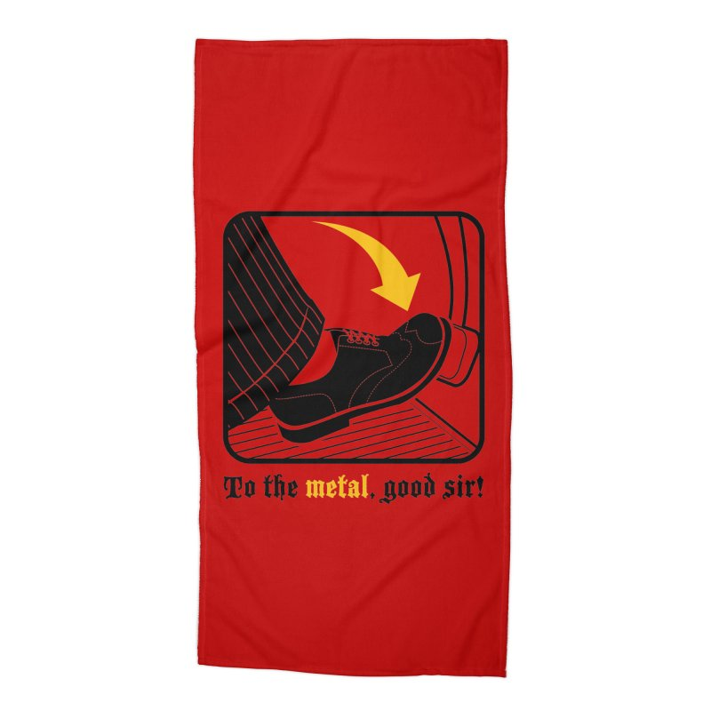 Push it Jeeves! Accessories Beach Towel by mckibillo's Artist Shop