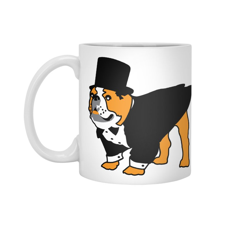 Top Dog Accessories Mug by mckibillo's Artist Shop