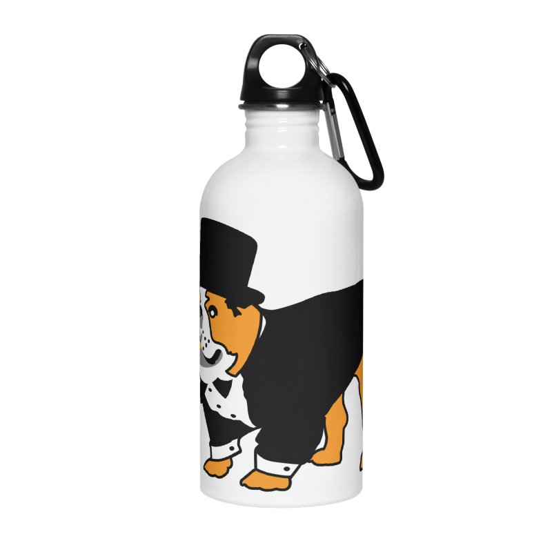Top Dog Accessories Water Bottle by mckibillo's Artist Shop