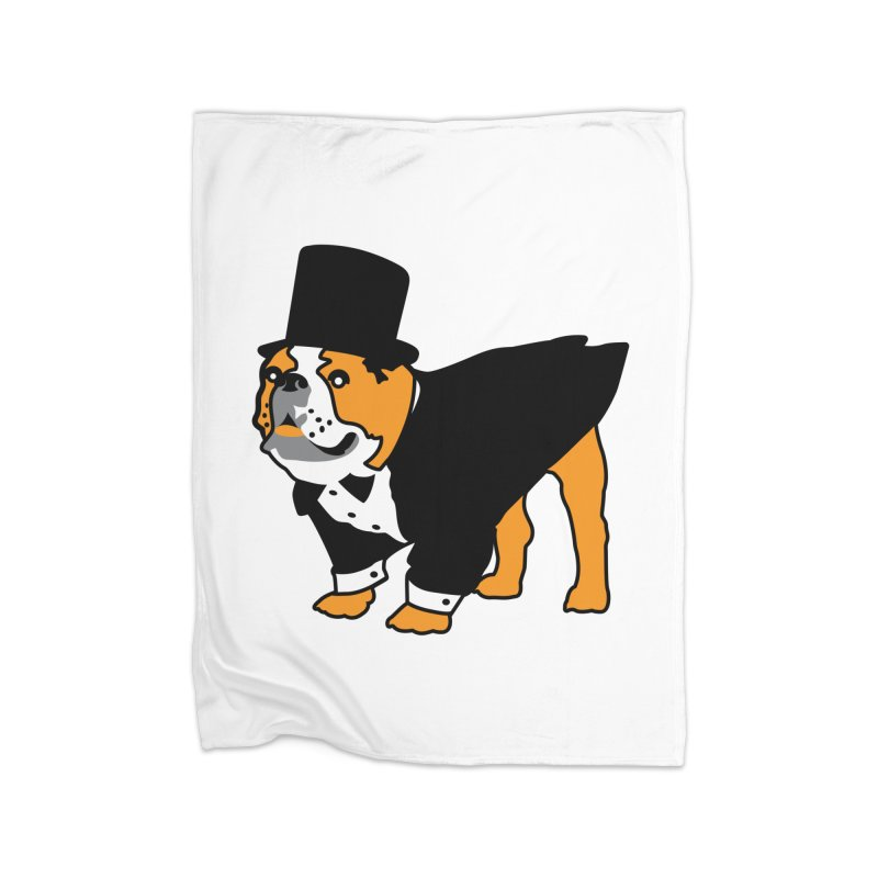 Top Dog Home Blanket by mckibillo's Artist Shop