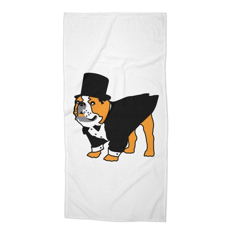 Top Dog Accessories Beach Towel by mckibillo's Artist Shop