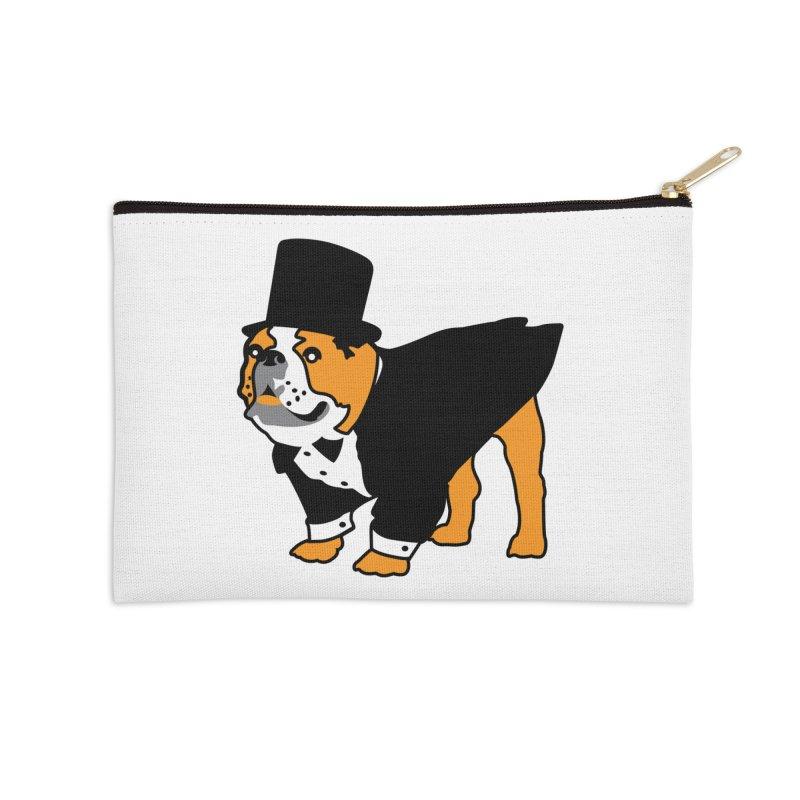 Top Dog Accessories Zip Pouch by mckibillo's Artist Shop