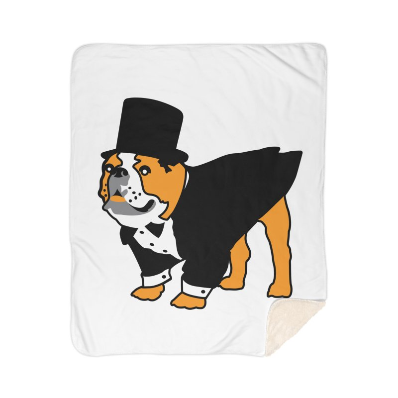 Top Dog Home Sherpa Blanket Blanket by mckibillo's Artist Shop