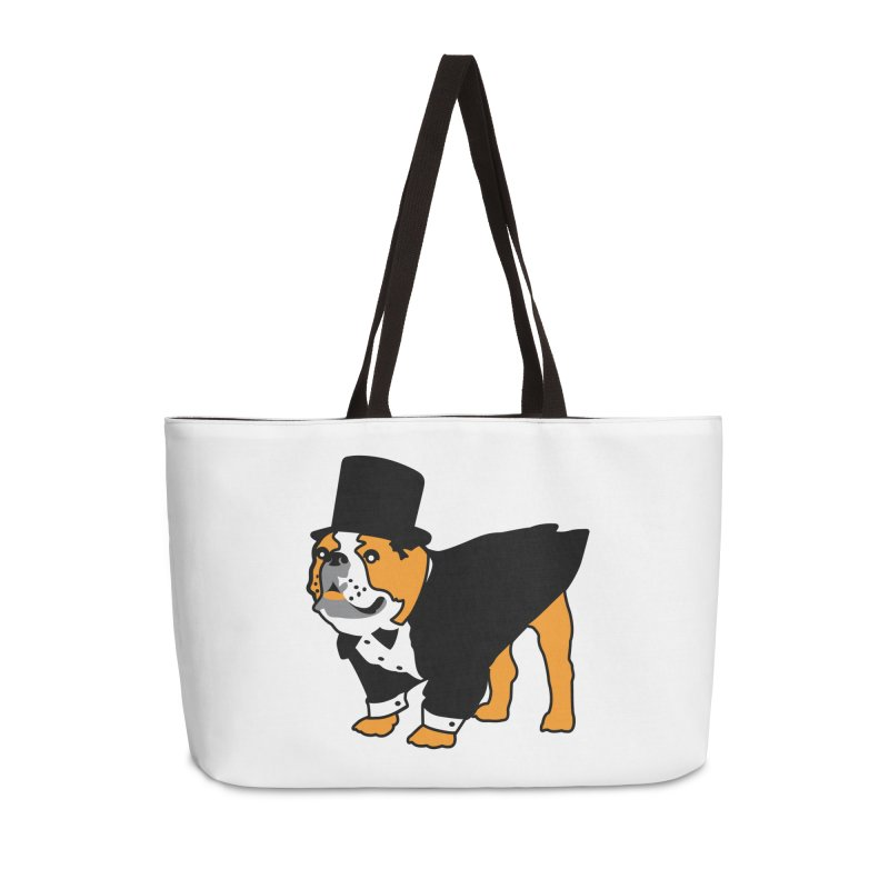 Top Dog Accessories Weekender Bag Bag by mckibillo's Artist Shop