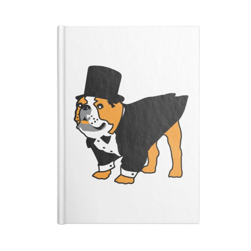 Top Dog Accessories Lined Journal Notebook by mckibillo's Artist Shop