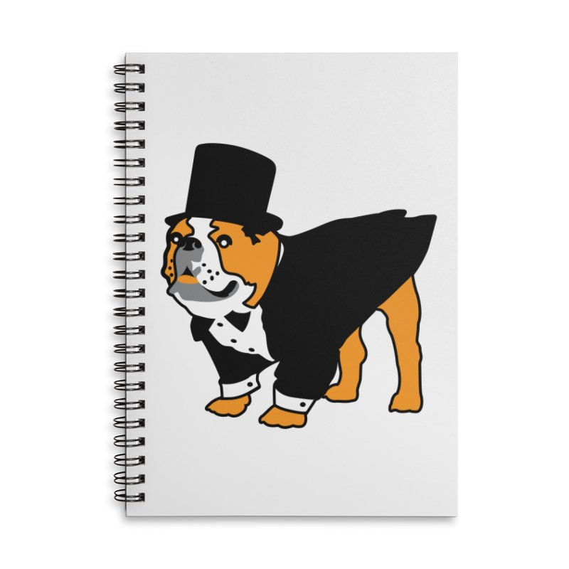 Top Dog Accessories Lined Spiral Notebook by mckibillo's Artist Shop