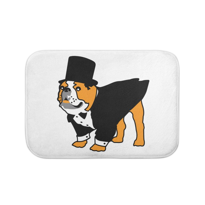 Top Dog Home Bath Mat by mckibillo's Artist Shop