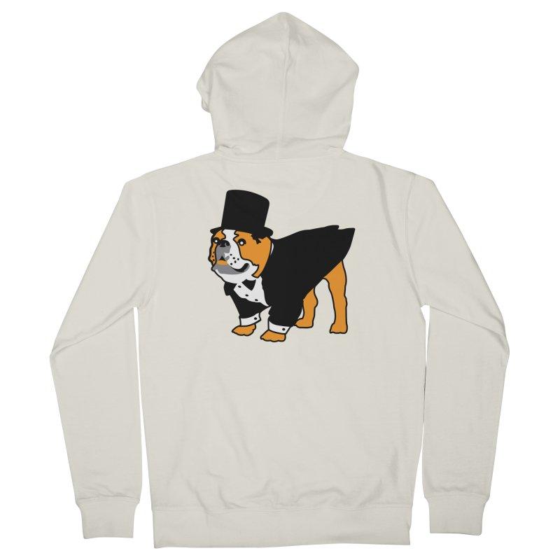 Top Dog Women's Zip-Up Hoody by mckibillo's Artist Shop
