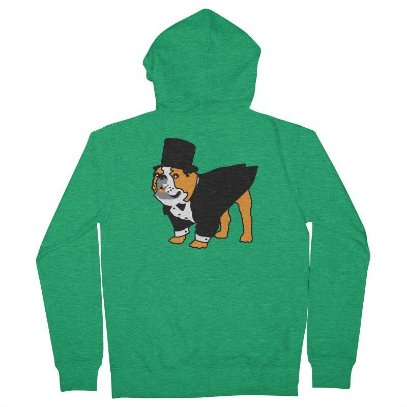 Top Dog Men's Zip-Up Hoody by mckibillo's Artist Shop