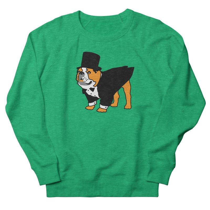 Top Dog Women's Sweatshirt by mckibillo's Artist Shop