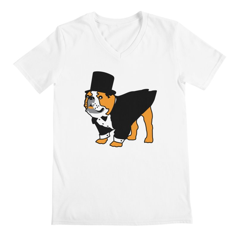Top Dog Men's V-Neck by mckibillo's Artist Shop