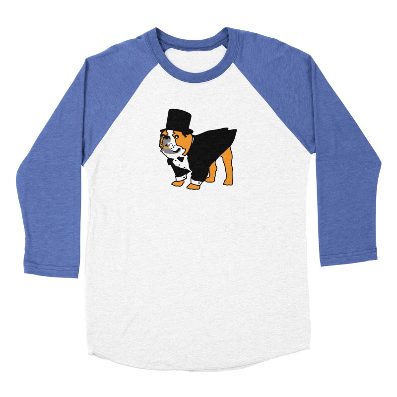 Top Dog Men's Baseball Triblend Longsleeve T-Shirt by mckibillo's Artist Shop