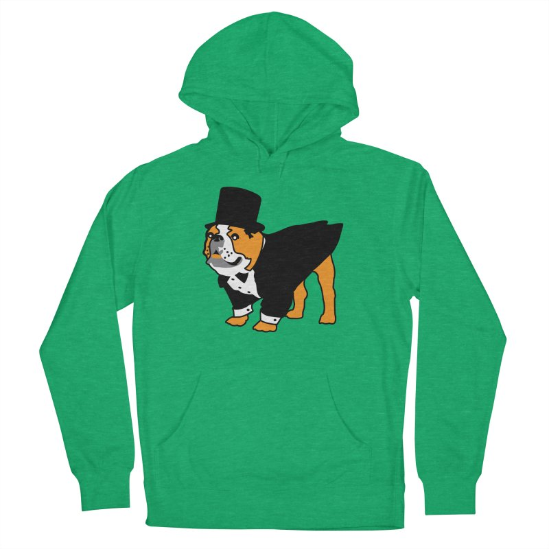 Top Dog Women's French Terry Pullover Hoody by mckibillo's Artist Shop