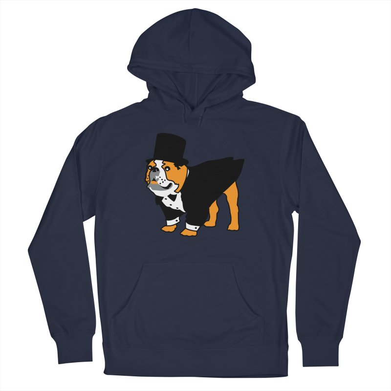 Top Dog Men's French Terry Pullover Hoody by mckibillo's Artist Shop