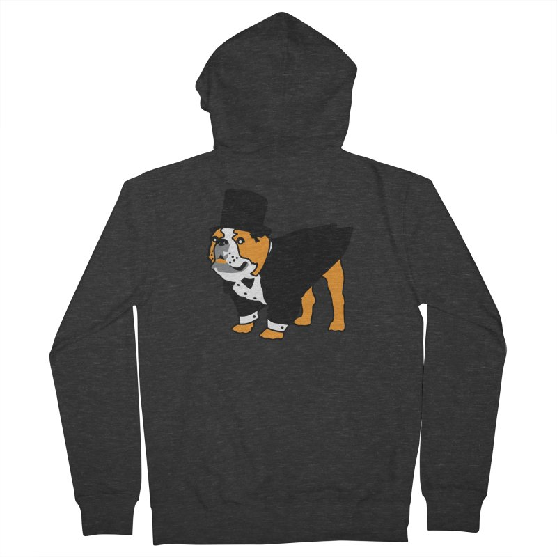 Top Dog Men's French Terry Zip-Up Hoody by mckibillo's Artist Shop