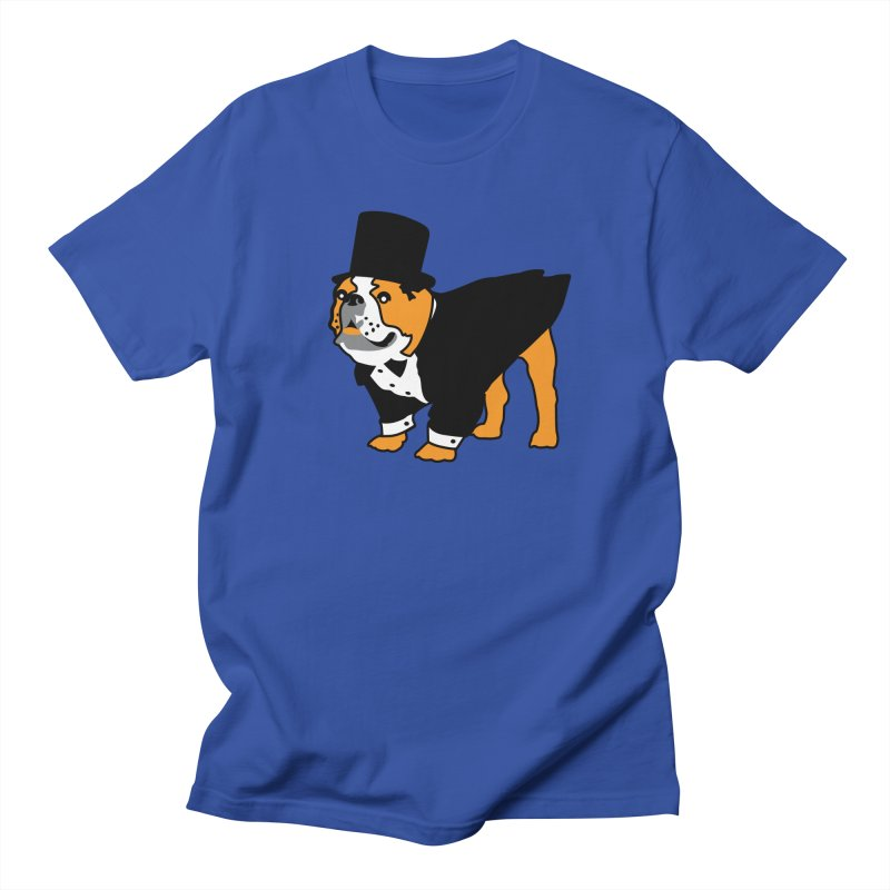 Top Dog Men's Regular T-Shirt by mckibillo's Artist Shop