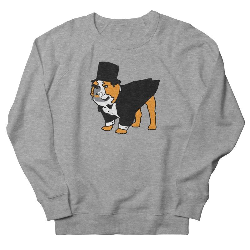 Top Dog Women's French Terry Sweatshirt by mckibillo's Artist Shop