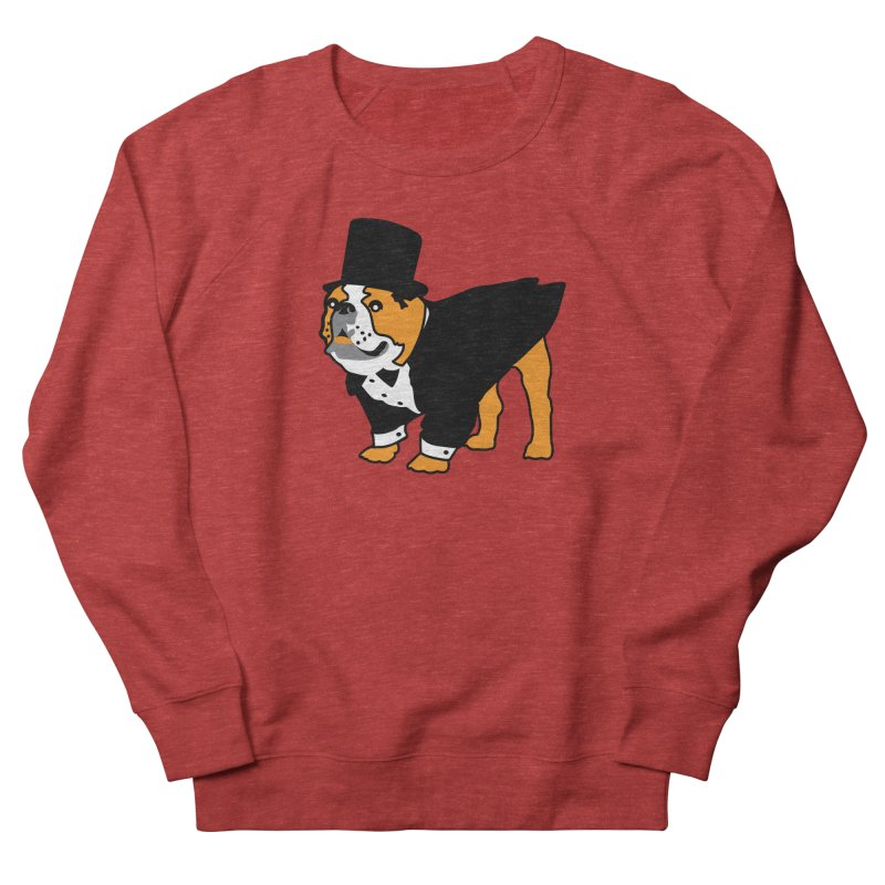 Top Dog Women's French Terry Sweatshirt by mckibillo's Artist Shop