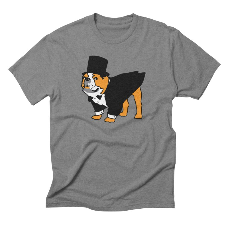 Top Dog Men's Triblend T-Shirt by mckibillo's Artist Shop