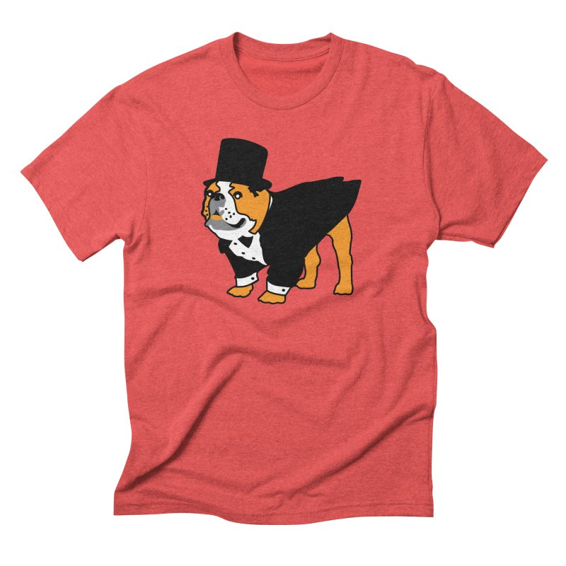 Top Dog Men's Triblend T-Shirt by mckibillo's Artist Shop
