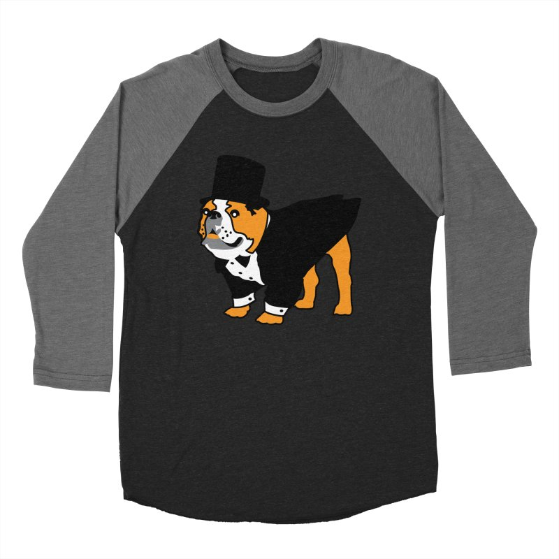 Top Dog Women's Baseball Triblend Longsleeve T-Shirt by mckibillo's Artist Shop