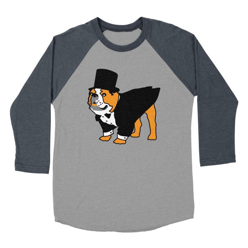 Top Dog Women's Baseball Triblend Longsleeve T-Shirt by mckibillo's Artist Shop