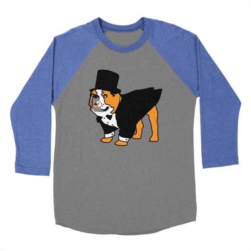 Top Dog Men's Baseball Triblend Longsleeve T-Shirt by mckibillo's Artist Shop