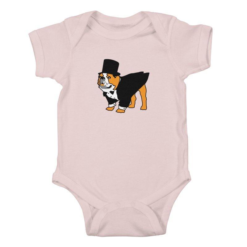 Top Dog Kids Baby Bodysuit by mckibillo's Artist Shop