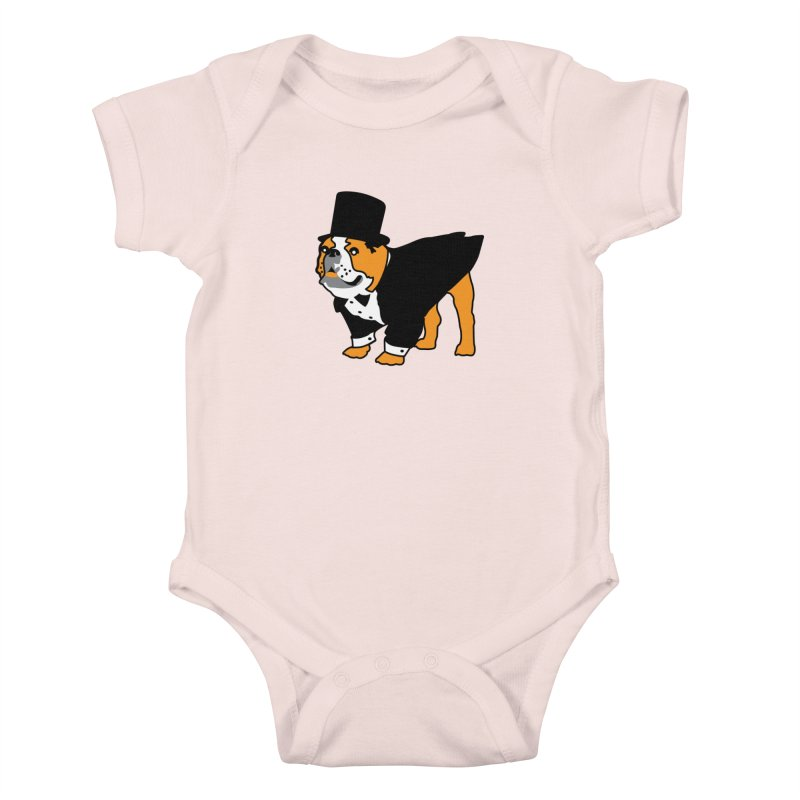 Top Dog Kids Baby Bodysuit by mckibillo's Artist Shop