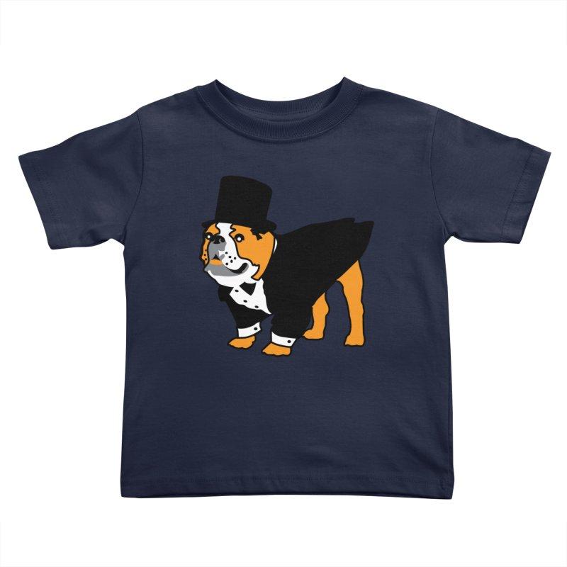 Top Dog Kids Toddler T-Shirt by mckibillo's Artist Shop