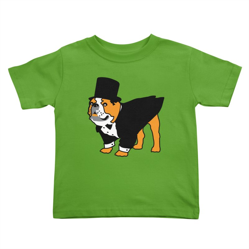 Top Dog Kids Toddler T-Shirt by mckibillo's Artist Shop