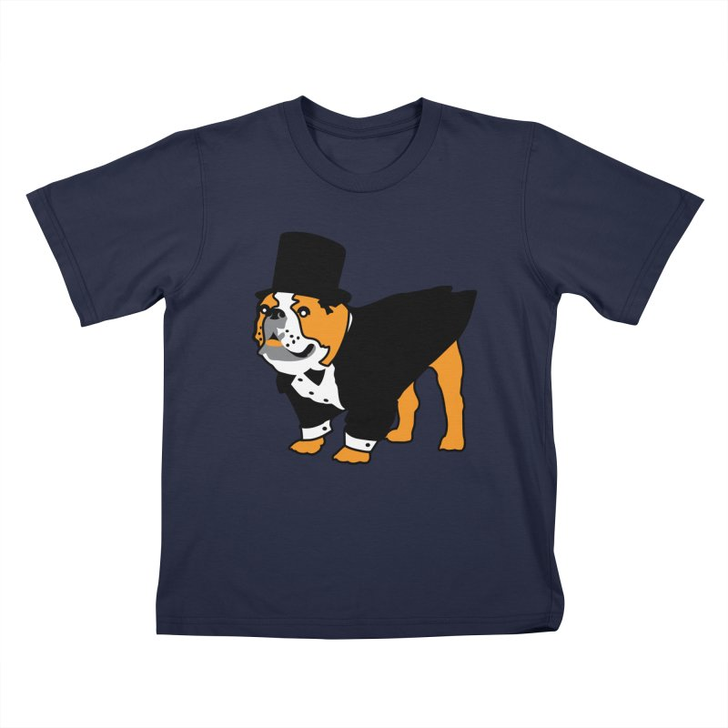 Top Dog Kids T-Shirt by mckibillo's Artist Shop