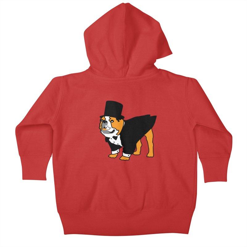 Top Dog Kids Baby Zip-Up Hoody by mckibillo's Artist Shop