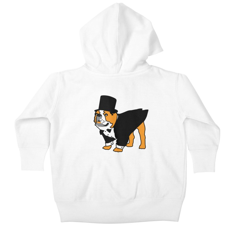 Top Dog Kids Baby Zip-Up Hoody by mckibillo's Artist Shop