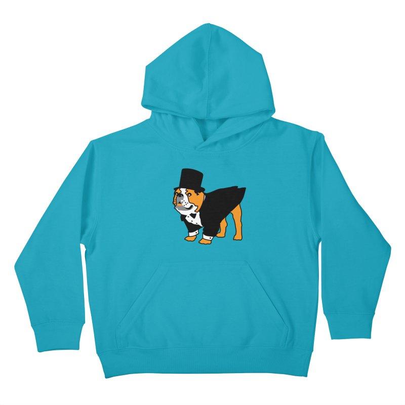Top Dog Kids Pullover Hoody by mckibillo's Artist Shop