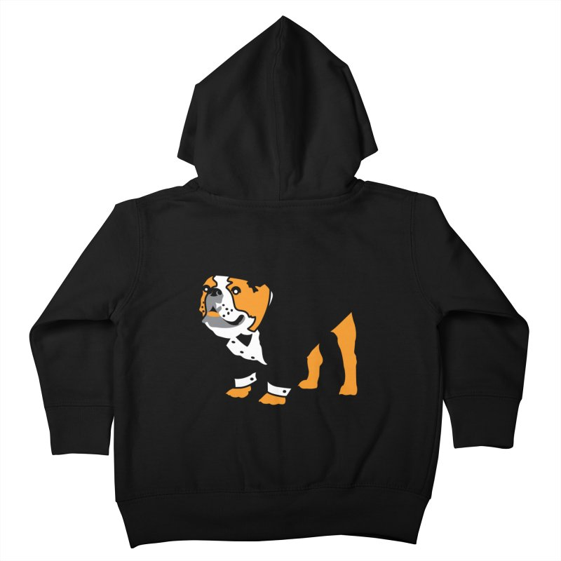 Top Dog Kids Toddler Zip-Up Hoody by mckibillo's Artist Shop