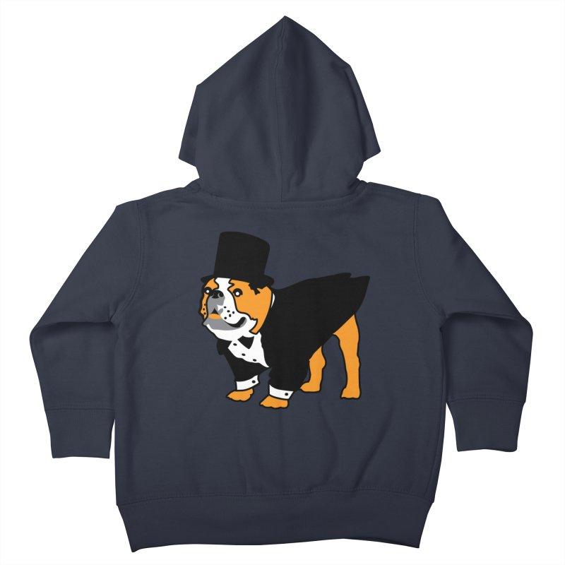 Top Dog Kids Toddler Zip-Up Hoody by mckibillo's Artist Shop